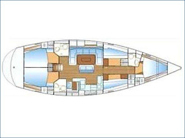 Bavaria 50 Cruiser Bareboat Charter Greece Yacht Sailing