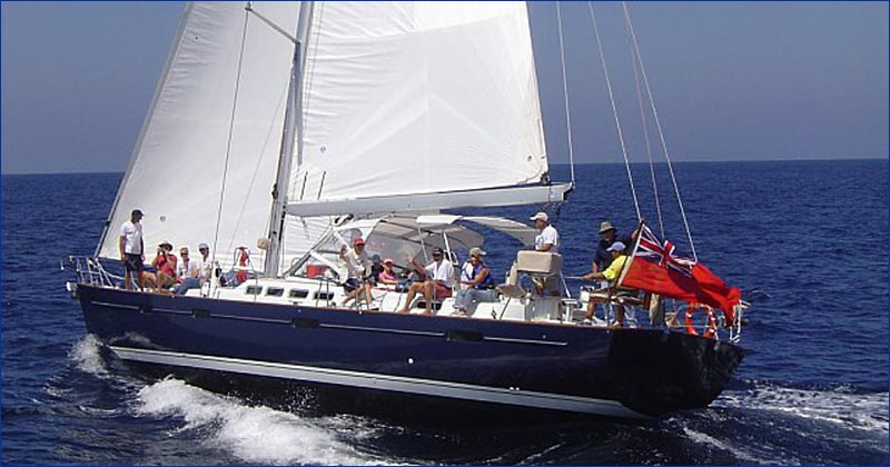Beneteau 57 Bareboat Charter Greece Yacht Sailing