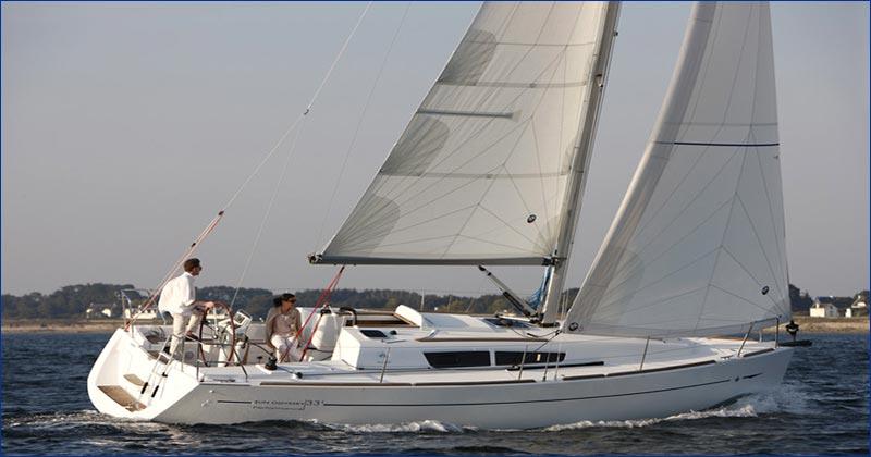 Jeanneau Sun Odyssey 33i Bareboat Charter Greece Yacht Sailing