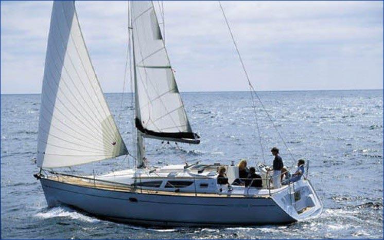 jeanneau sun-odyssey-35 bareboat charter greece