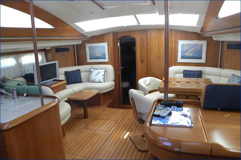 Jeanneau Sun Odyssey 54 Ds Bareboat Charter Greece Yacht Sailing